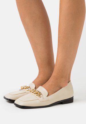 WHITNEY - Loaferit/pistokkaat - cream