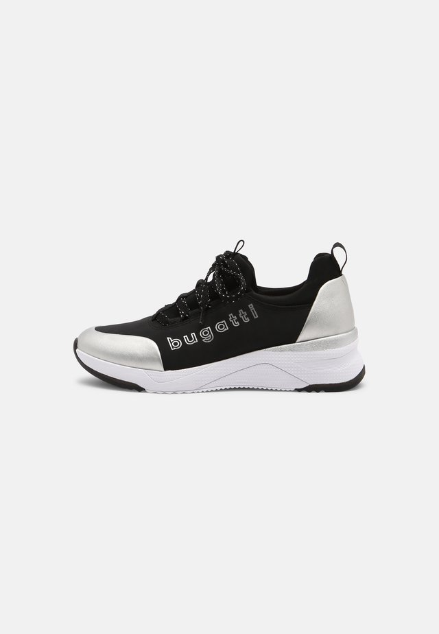 RISE - Trainers - black /silver