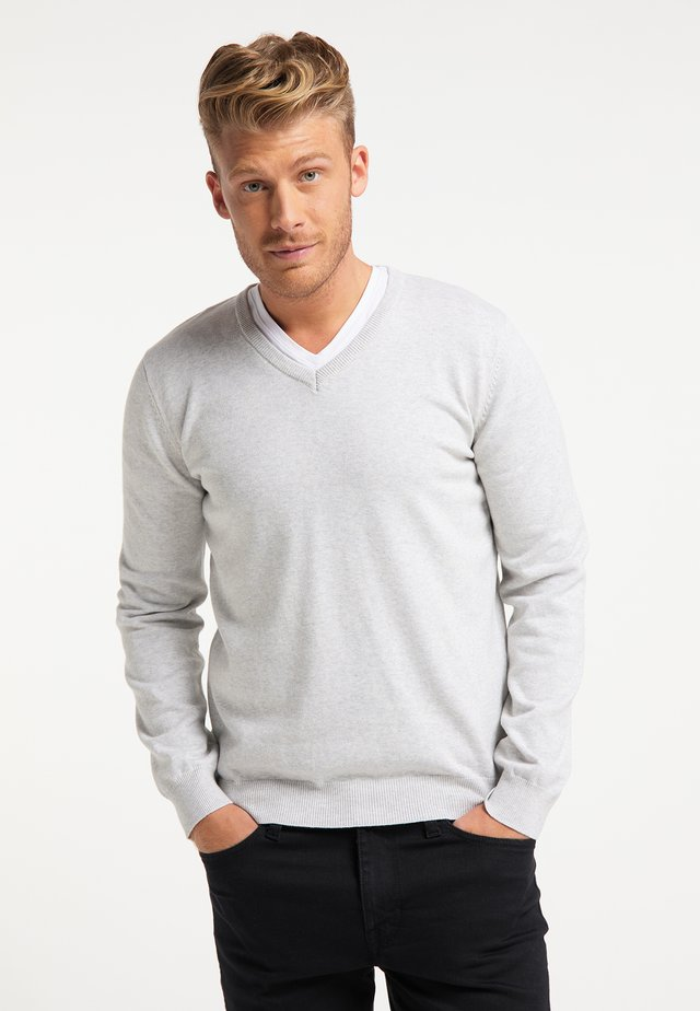 Pullover - wollweiss