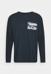 Mennace - TAIL LIGHT - Long sleeved top - washed black - 4