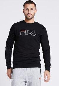 Fila - LIAM CREW - Sweatshirts - black - 0
