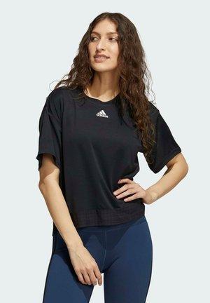 HEAT RDY - Print T-shirt - black