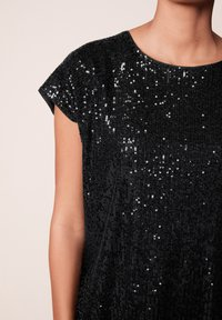 Next - SEQUIN - T-shirt imprimé - black - 3