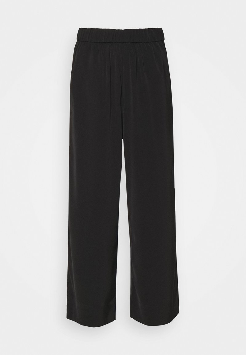 ONLY Petite - ONLGISELA GUSTAVA WIDE PANT - Trousers - black