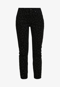 Madewell - HIGH RISE - Jeans Skinny Fit - black - 3