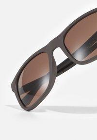 Emporio Armani - Sunglasses - matte brown - 4
