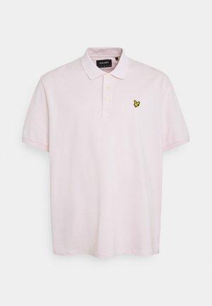 PLUS PLAIN  - Polo shirt - stonewash pink