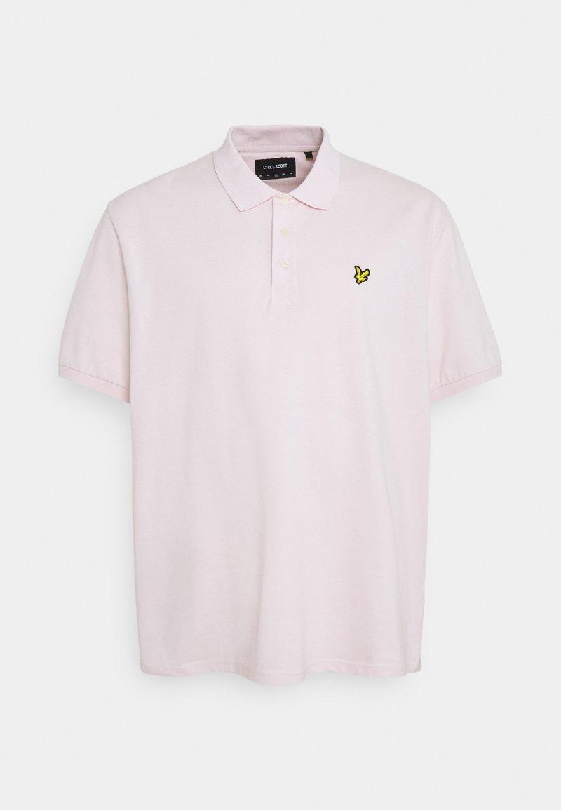Lyle & Scott - PLUS PLAIN  - Polotričko - stonewash pink
