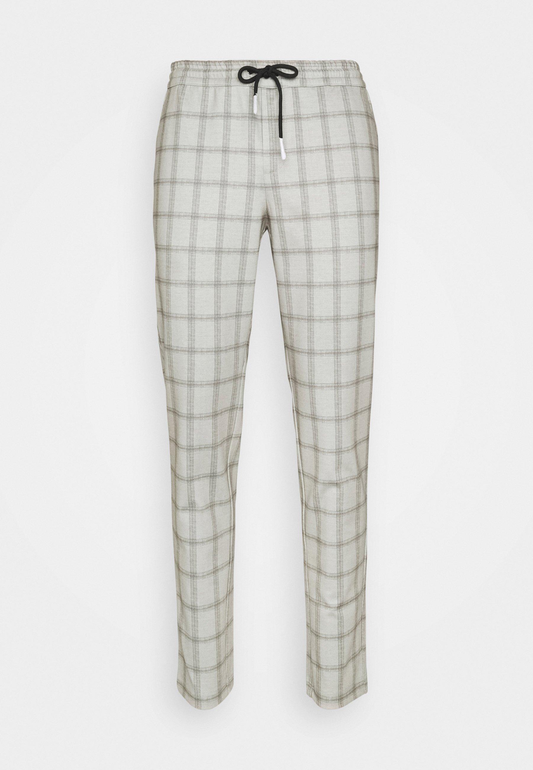 Men JJIWILL JJPHIL CHECK - Trousers