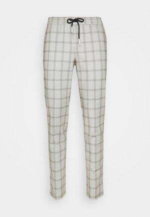 JJIWILL JJPHIL CHECK - Pantalon classique - grey