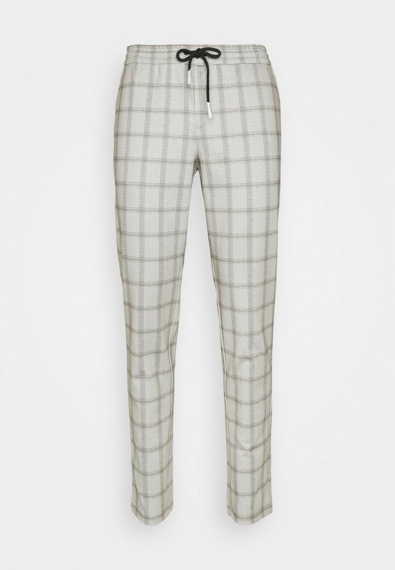 Jack & Jones - JJIWILL JJPHIL CHECK - Trousers - grey