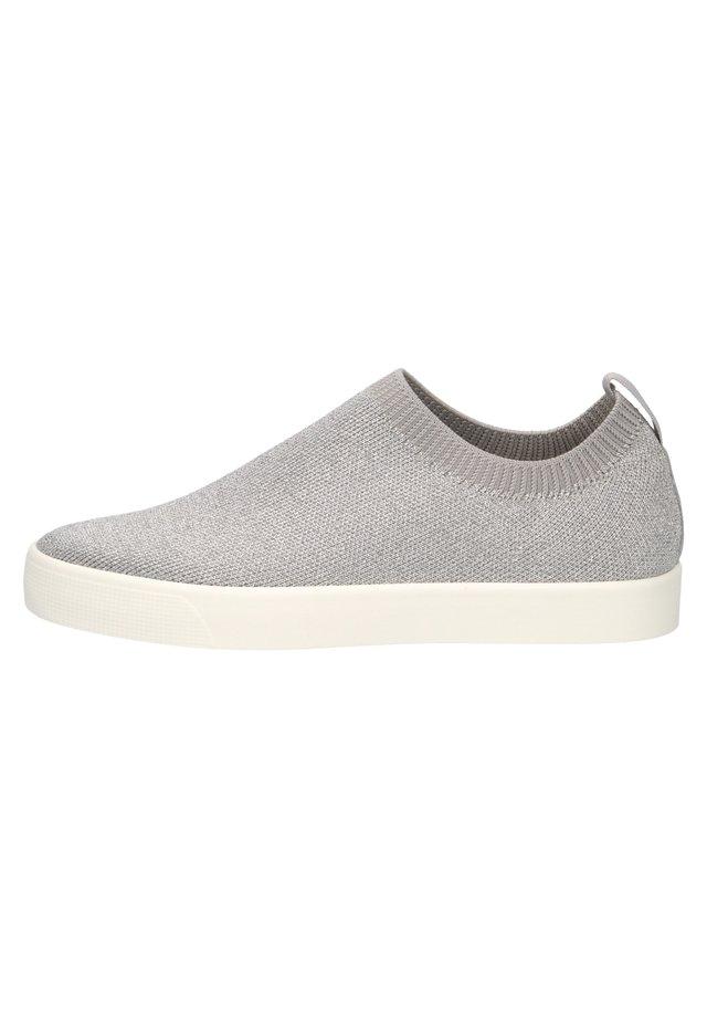 Tenisky - lt grey knit