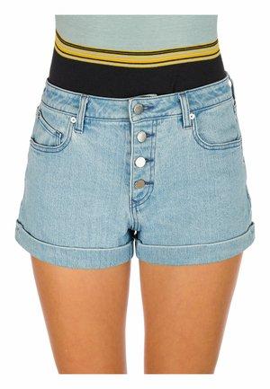 STONE - Denim shorts - glacier blue