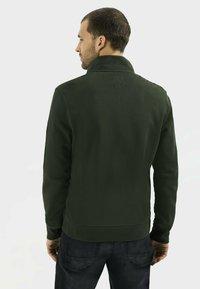 camel active - Zip-up sweatshirt - leaf green - 2