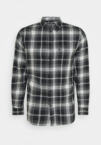 Zign - UNISEX - Skjorta - black/white - 4