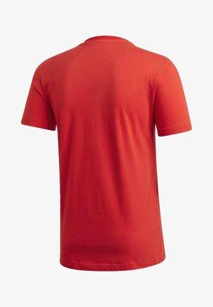FC BAYERN DNA GRAPHIC T-SHIRT - Club wear - red