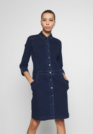 Denim dress - dark steel