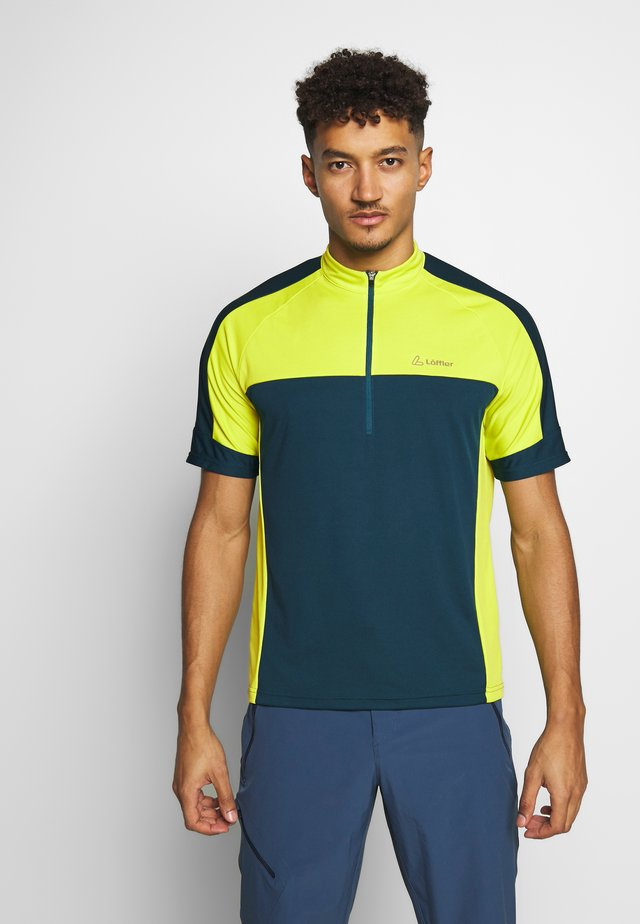 BIKE PACE - T-shirt con stampa - pond green