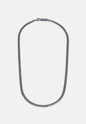 DESERT COMRADE FLAT SNAKE CHAIN NECKLACE - Necklace - gunmetal