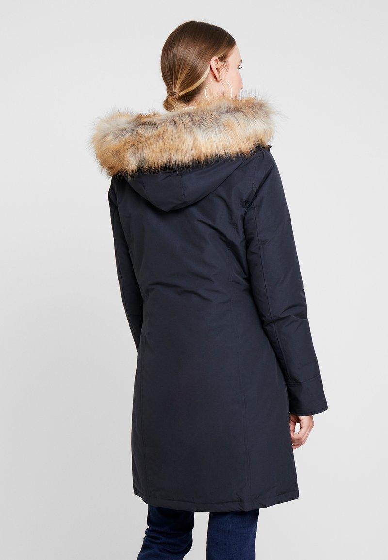 Canadian Classics Fundy Bay Long Fake Fur Donsjas Navy Donkerblauw Zalando Nl