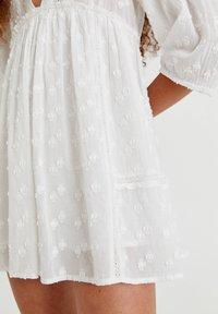 PULL&BEAR - Day dress - white - 6