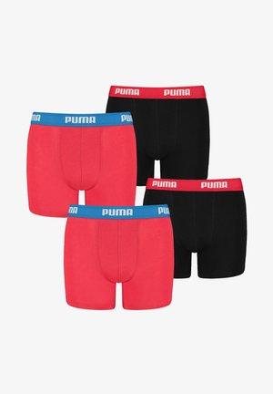 4 PACK - Pants - 786 - red / black