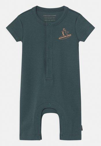 COURAGEOUS UNISEX - Pyjamas - dark teal/sand