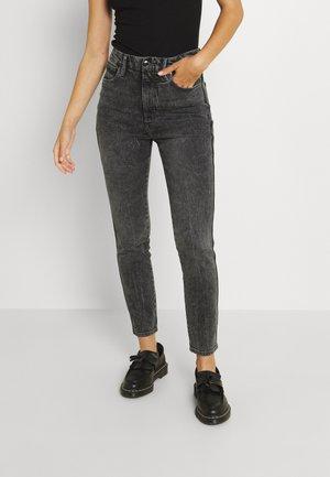 GOOD CURVE CROP - Jeans Skinny Fit - black