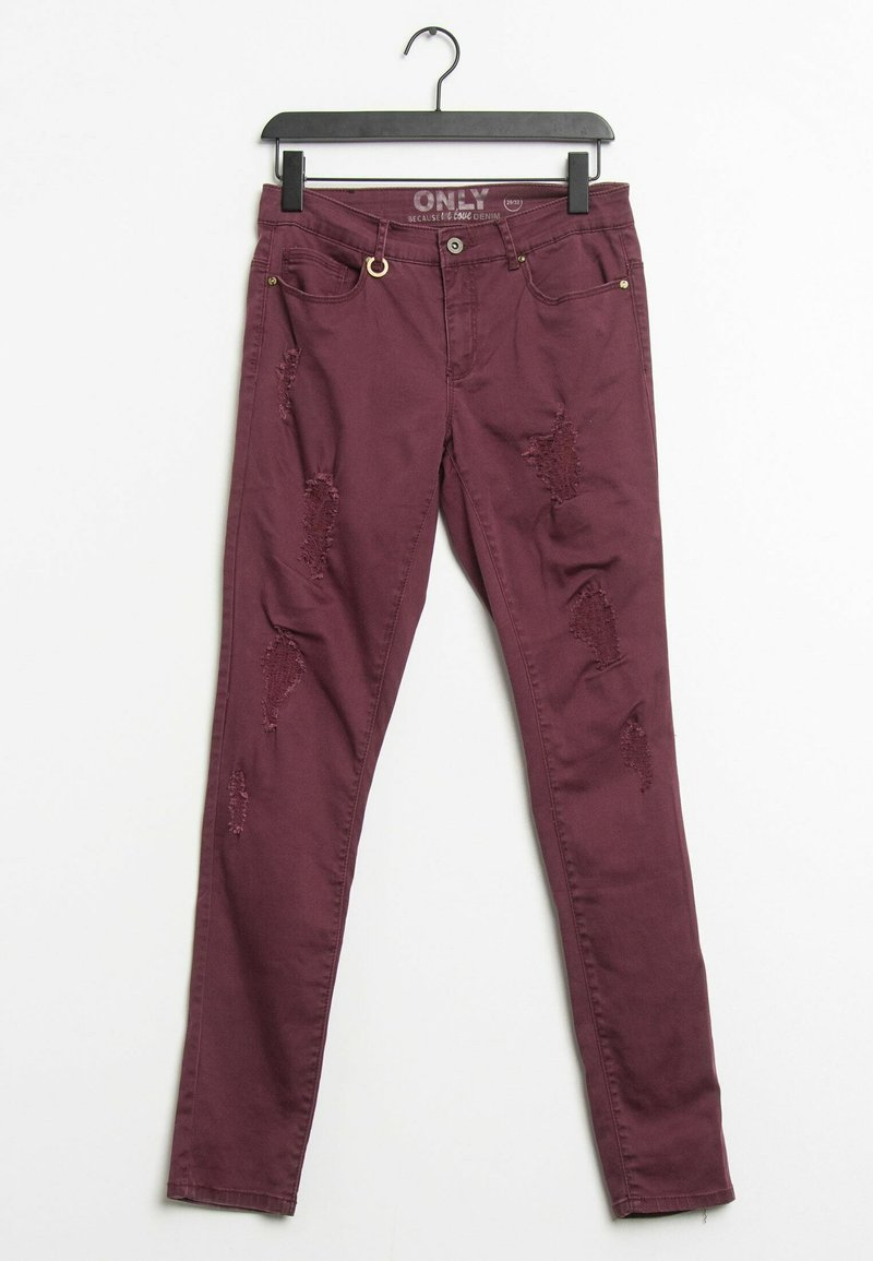 ONLY - Relaxed fit jeans - purple