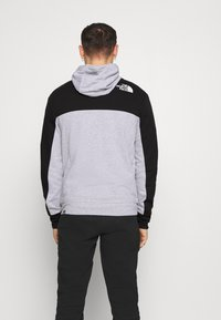 The North Face - FULL ZIP HOODIE - Bluza rozpinana - light grey heather/black - 2