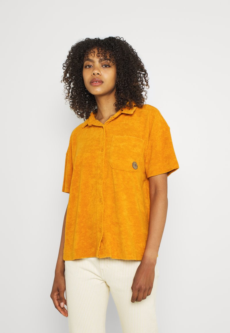 DAMSON MADDER - TOWELLING SHIRT - Skjorta - orange