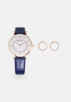 GIANNI T-BAR SET - Watch - blue