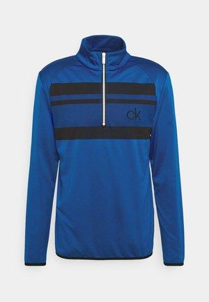 TAYLOR CHEST HALF ZIP - Sweatshirt - nautical blue