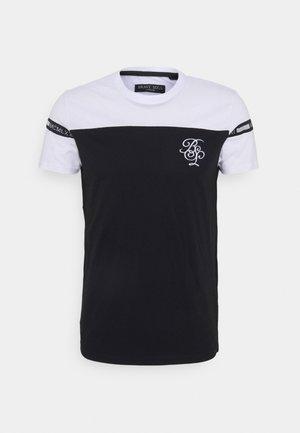 COLLECTIVE - T-shirt imprimé - optic white/jet black