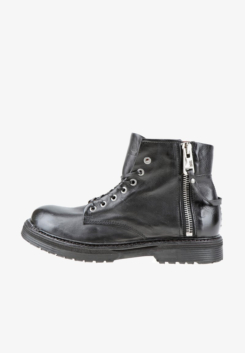 A.S.98 - Lace-up ankle boots - nero