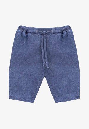 DANNY - Denim shorts - blue