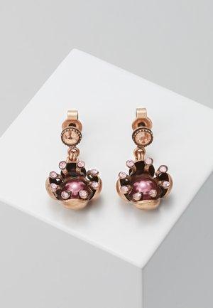 PETIT FLEUR DE BLOOM - Earrings - pink