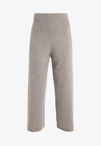 pure cashmere - LOOSE FIT PANTS - Trousers - beige - 3