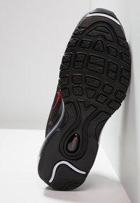 Nike Sportswear - AIR MAX 97  - Trainers - black/university red - 4