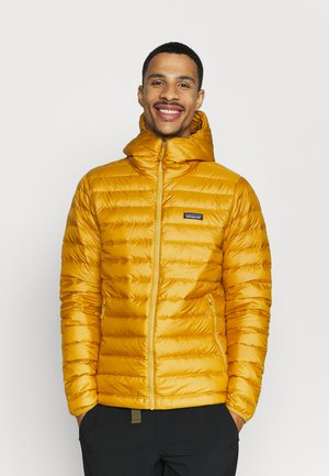 Down jacket - buckwheat gold