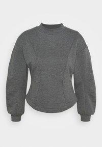 ONLSTELLA - Sweatshirt - dark grey melange