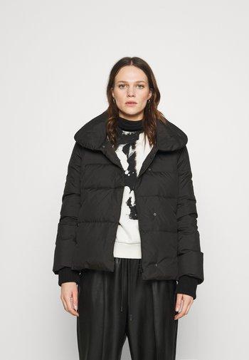 TOPAZ - Down jacket - black