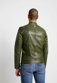 Freaky Nation - LUCKY JIM - Leather jacket - cypriss - 2