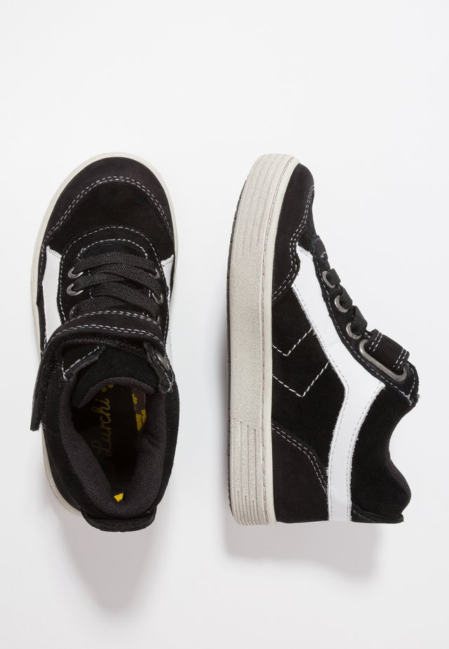 HAKON TEX - High-top trainers - black