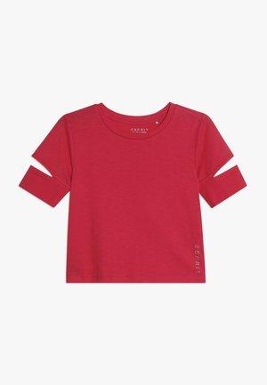 Jednoduché triko - raspberry