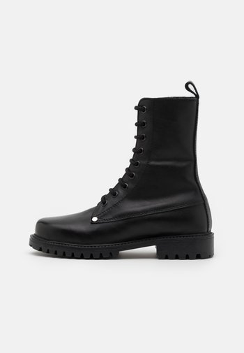 BOKINA UNISEX - Lace-up ankle boots - black