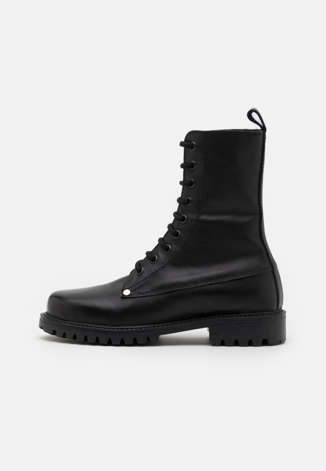BOKINA UNISEX - Bottines à lacets - black