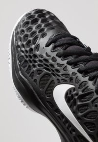 Nike Performance - AIR ZOOM CAGE - Clay court tennis shoes - black/white/bright crimson - 6