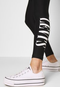 Levi's® - Leggings - Trousers - logo legging mineral black mineral black - 3