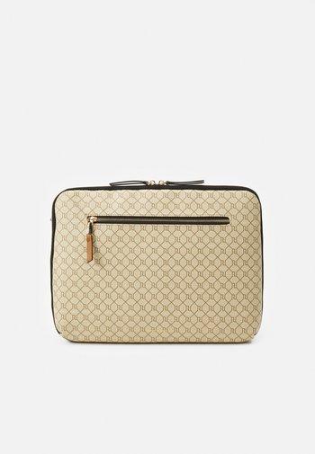 Laptop bag - beige light